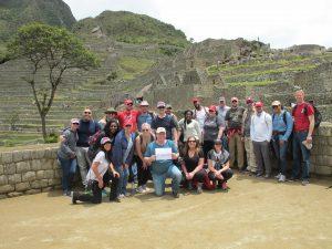 UA EMBA in Macchu Picchu